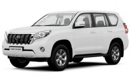 Toyota Land Cruiser Prado - аренда авто в Сургут